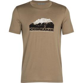 Icebreaker Tech Lite SS Crew Shirt Icebreaker Mountain Men, Oliva